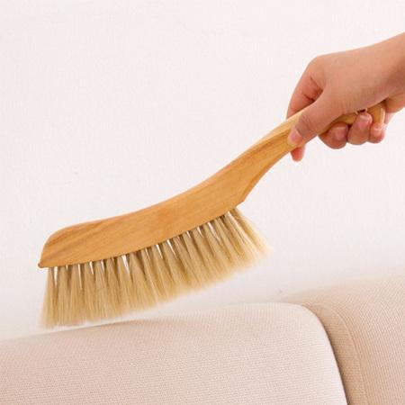 被子沙发除尘刷子扫床刷毛刷 大号猪鬃毛床刷扫尘刷清洁刷